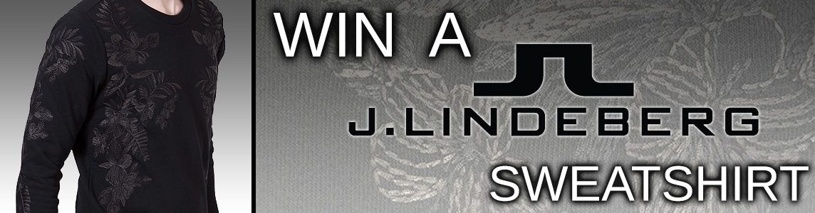 Win a J Lindeberg Sweatshirt Worth £125!