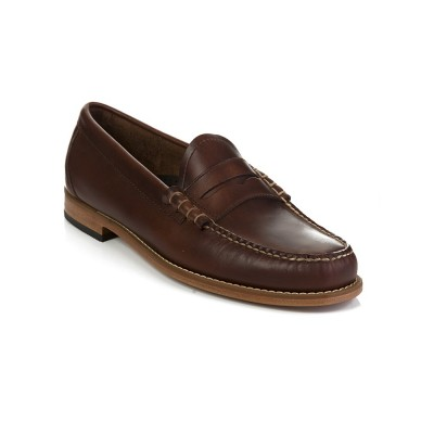 G.H. Bass & Co. Dark Brown Leather Larson Loafer