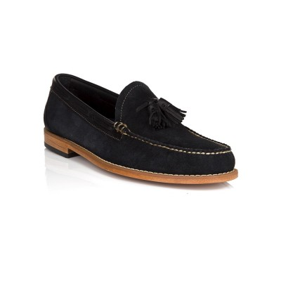 G.H. Bass & Co. Navy Suede Larkin Loafer