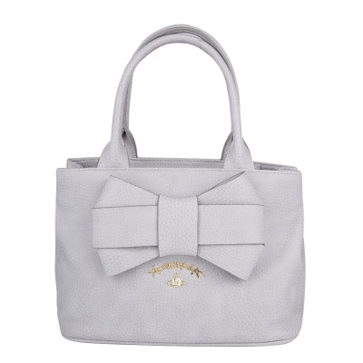 Vivienne Westwood Grey Bow Bag