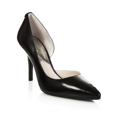 Michael Kors Black Nathalie High Pump Shoe