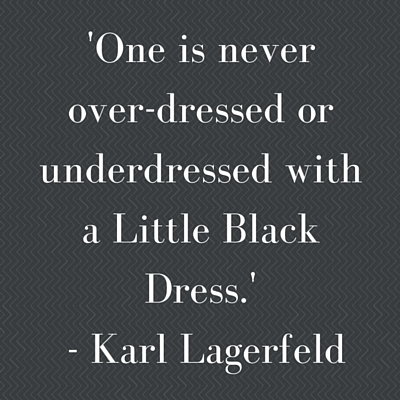 Karl lagerfield quote