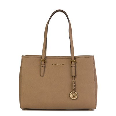 Michael Kors Dark Khaki Saffiano Medium Tote