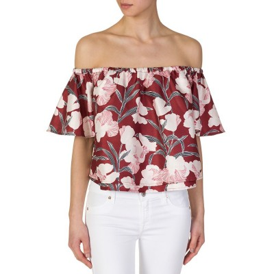 Keepsake Burgundy Floral Foundations Top