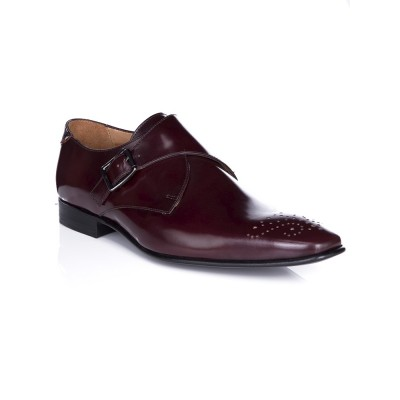 PS by Paul Smith Burgundy High Shine Wren Shoe