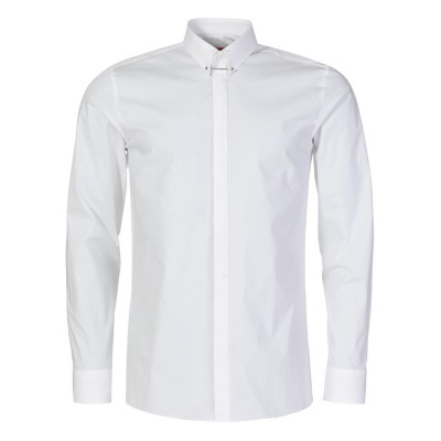 Hugo by Hugo Boss White Slim Fit Enzel Shirt