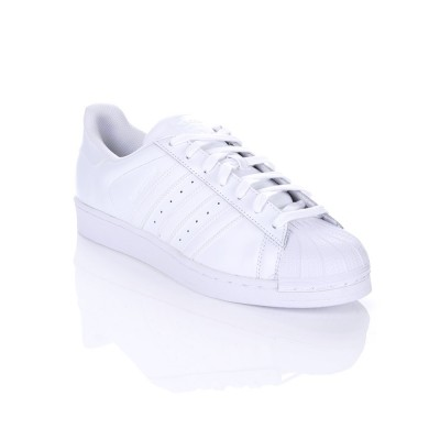 Adidas White Superstar Foundation Trainer
