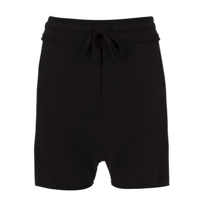 Thom Krom Black Sweat Shorts