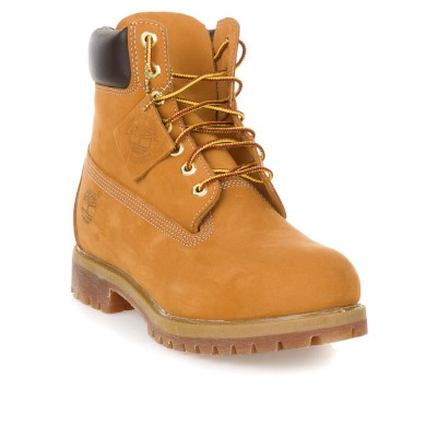 Timberland Premium 6 Inch Boot in Wheat Nubuck