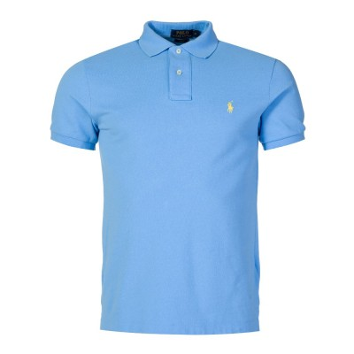 Polo Ralph Lauren Sky Blue Slim Fit Polo Shirt