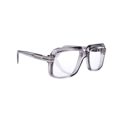 Cazal 607 Grey Clear Lens Glasses