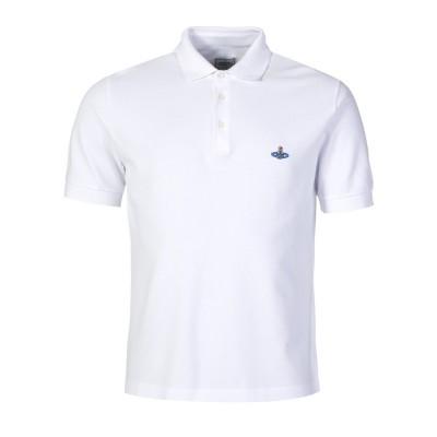 Vivienne Westwood White Basic Polo Shirt