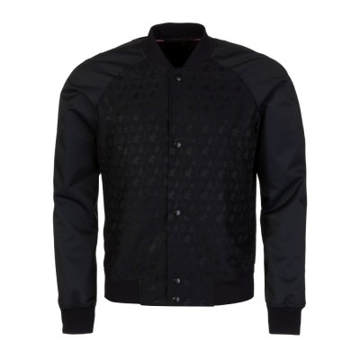 Ps by Paul Smith Navy Printed Bomber Jacket
