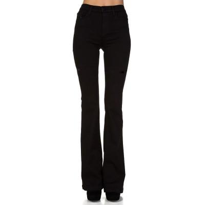 J Brand Black Maria Flare Jeans