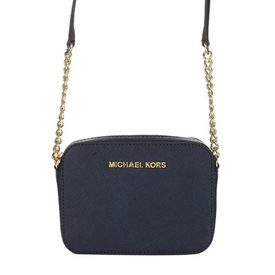 Michael Kors Navy Crossbody Bag