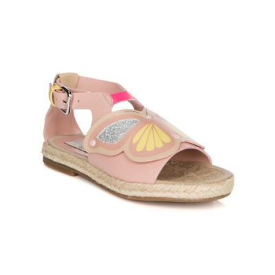 Stella McCartney Pink Butterfly Sandal