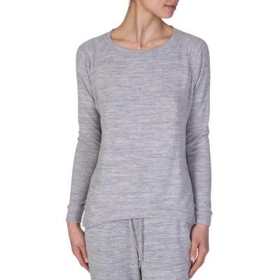 Velvet Grey Marl Jersey Sweatshirt