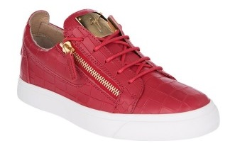 Zanotti-red-trainer