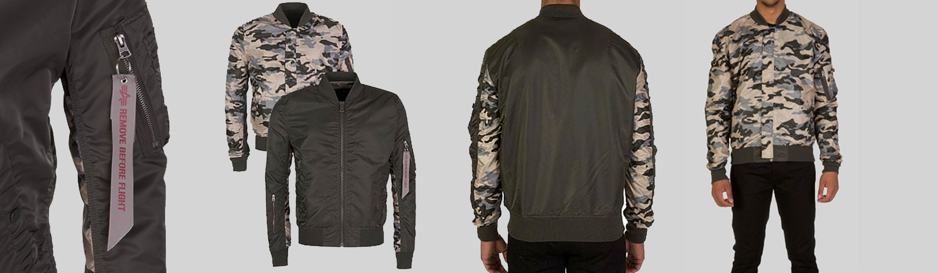 Staff Pick: Alpha Industries Green Reversible Bomber Jacket