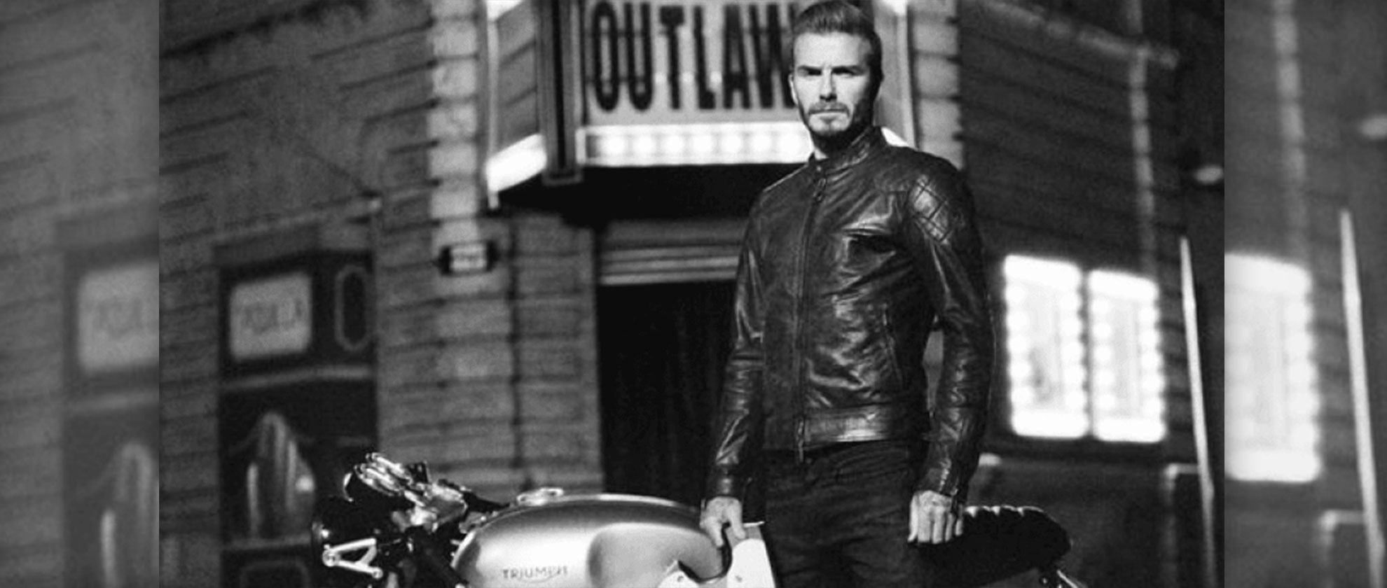 David Beckham Wears Belstaff Outlaws Jacket in Short Film