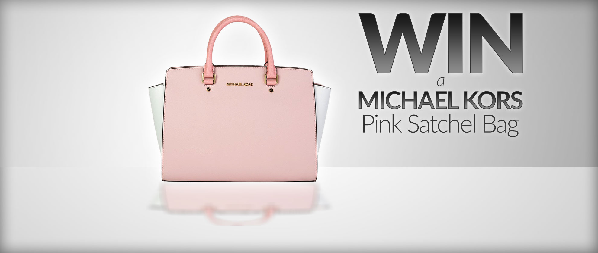 Win a Michael Kors Pink Satchel Bag