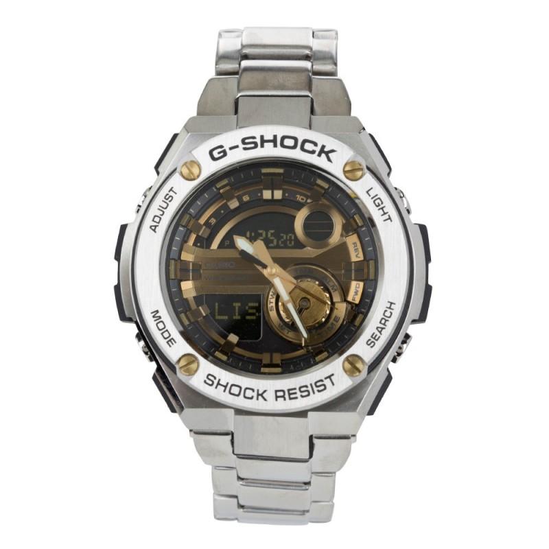 G-Shock Silver Steel Shock Resistant Watch
