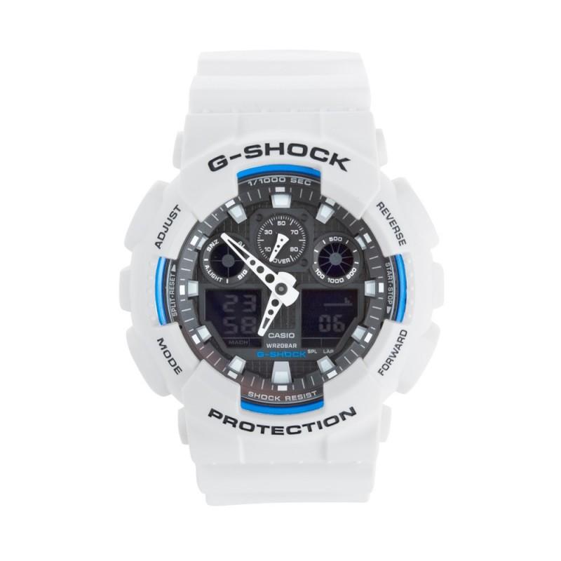 G-Shock White Core GA-100B Watch