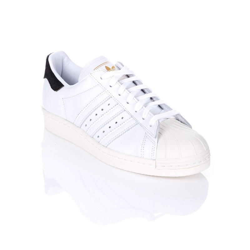 Adidas Superstar 80s Trainers in White