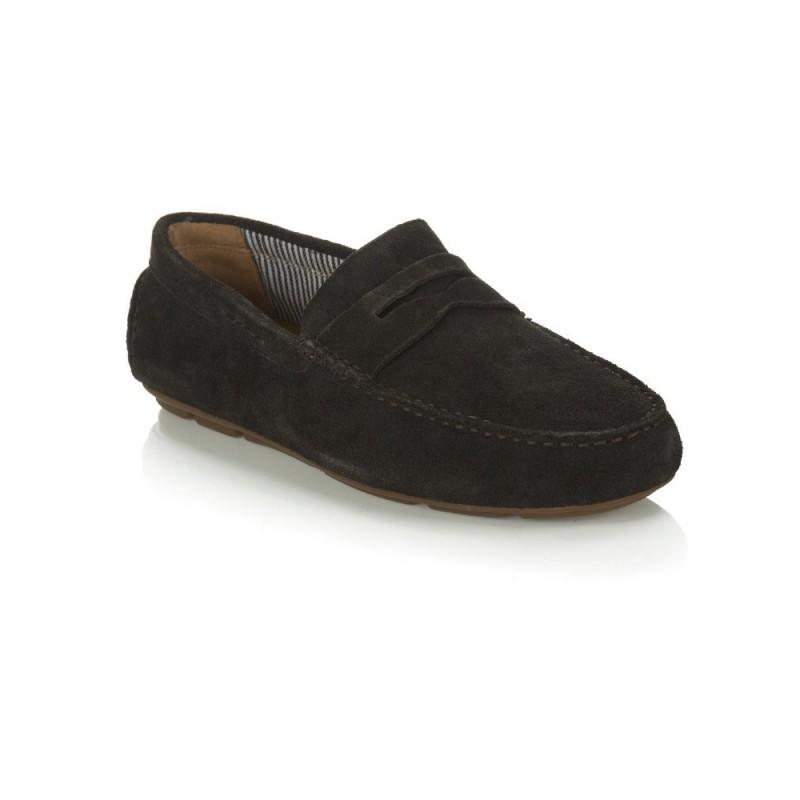Armani Jeans Brown Driving Shoe