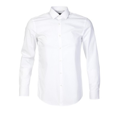 Boss by Hugo Boss White Jenno Slim Shirt