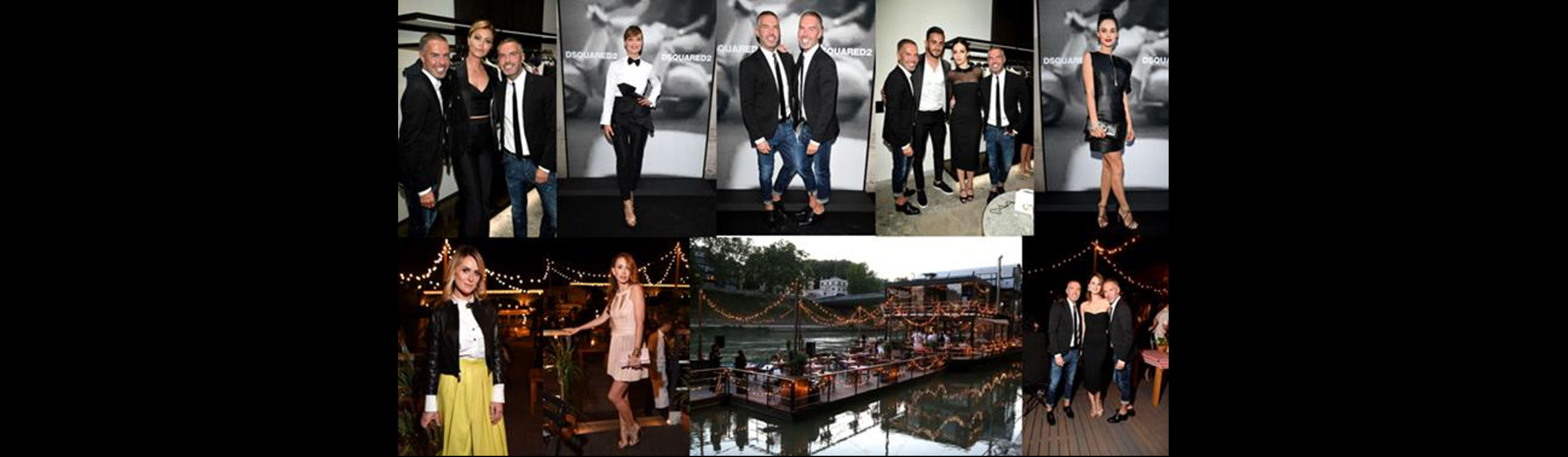 DSquared2 Celebrate the Opening of Their Flagship Store in Rome