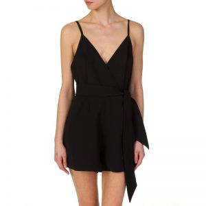 Finders Keepers Blow Your Mind Playsuit in Black