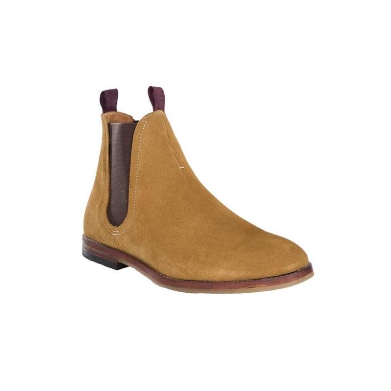 Hudson Sand Tamper Chelsea Boots