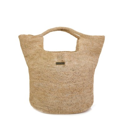 Heidi Klein Natural Raffia Beach Bag