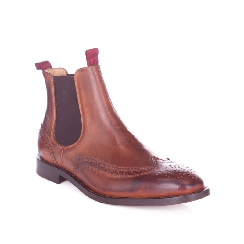 Hudson Tan Breslin Chelsea Boots