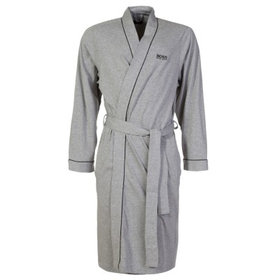 Boss by Hugo Boss Grey Kimono Bath Robe