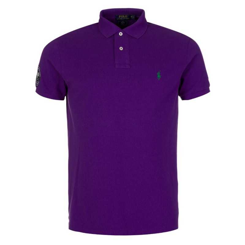 Polo Ralph Lauren Wimbledon Polo Shirt in Empire Purple