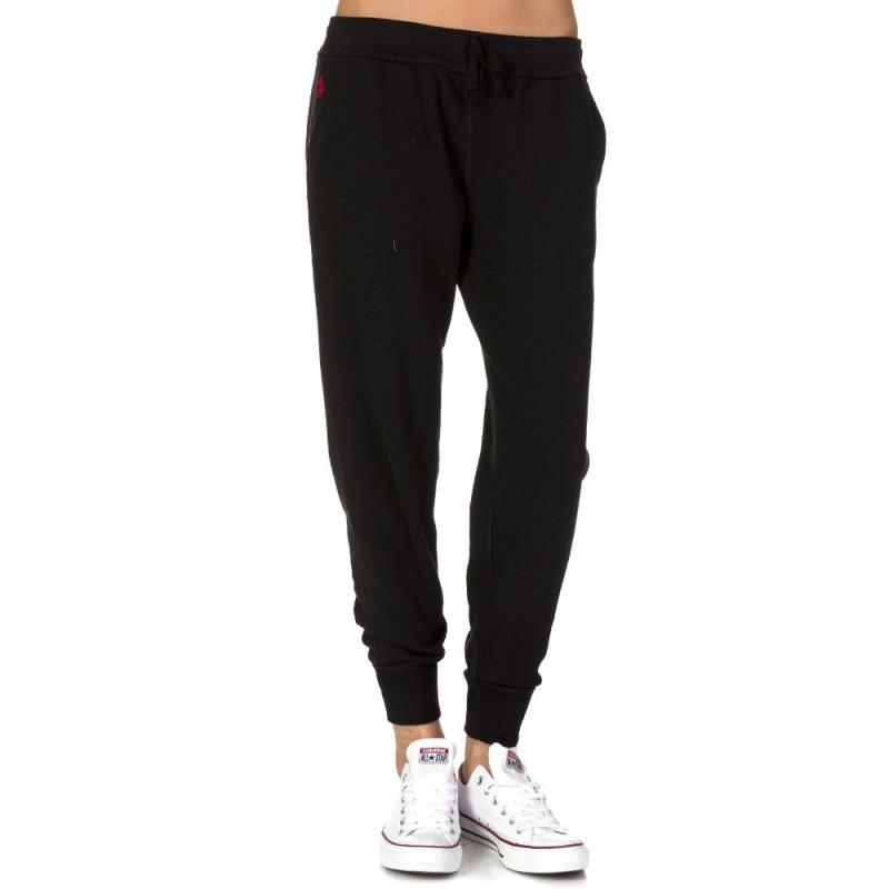 Polo Ralph Lauren Skinny Logo Sweatpants in Black