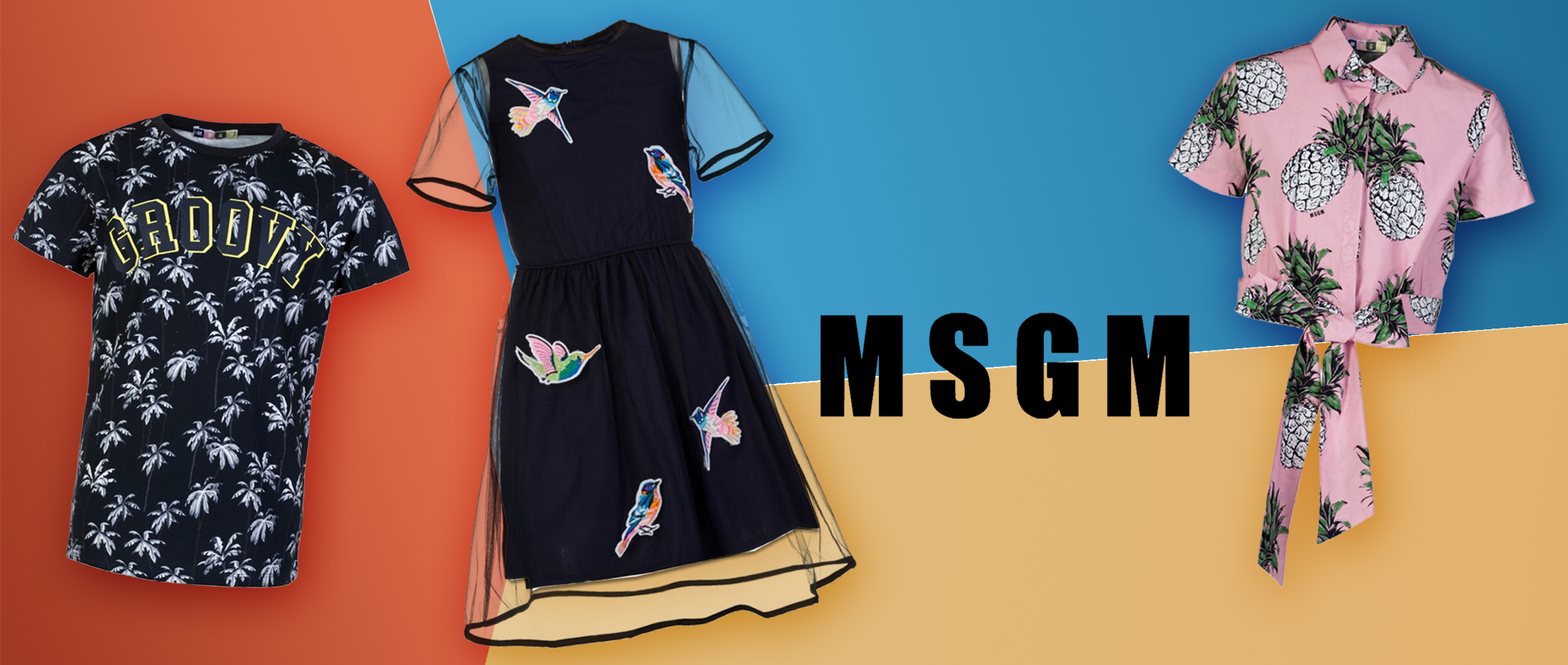 Staff Pick:  MSGM Junior Pineapple Match Up Set