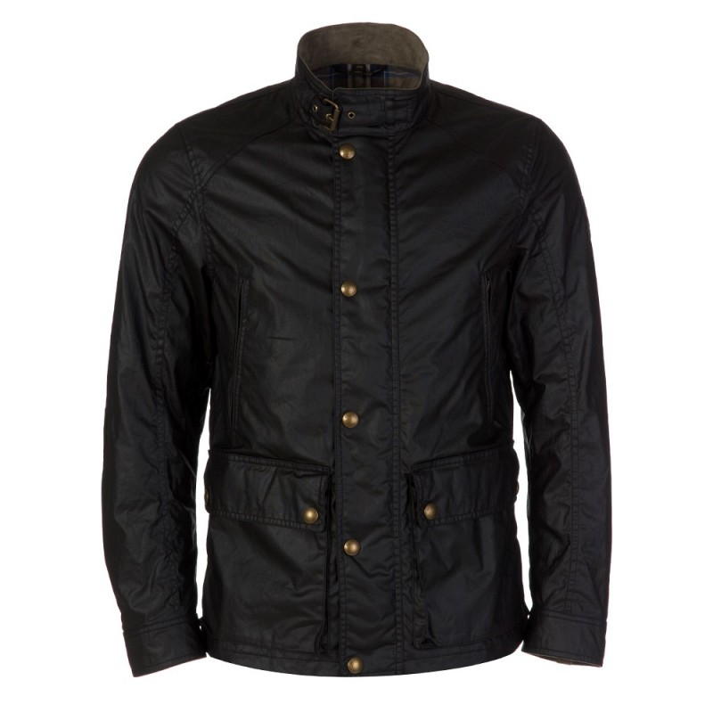Belstaff Black Tourmaster Jacket
