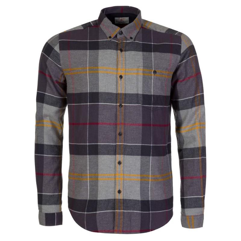 Barbour Grey Johnny Shirt