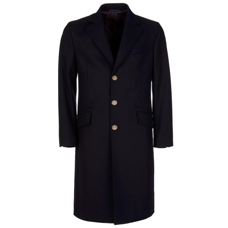 Vivienne Westwood Navy Long Pea Coat