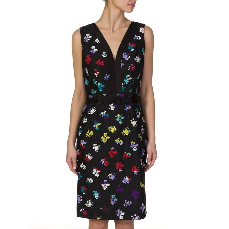 Diane Von Furstenberg Multi Melrose Dress