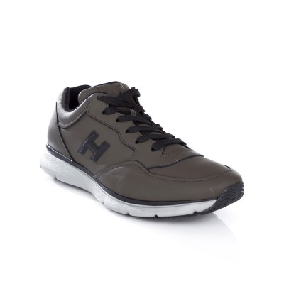 Hogan Khaki Traditional Running Trainer