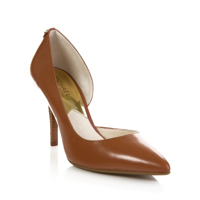 Michael Kors Brown Heel Shoe