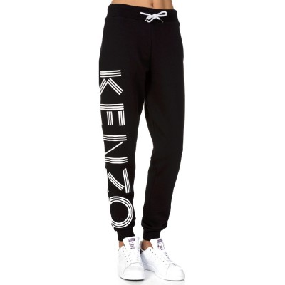 Kenzo Black Logo Sweat Pants