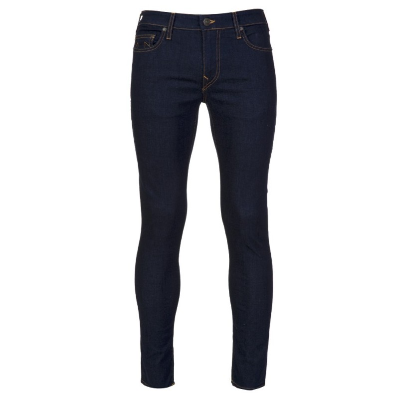 True Religion Midnight Rinse Tony Super Stretch Skinny Jeans