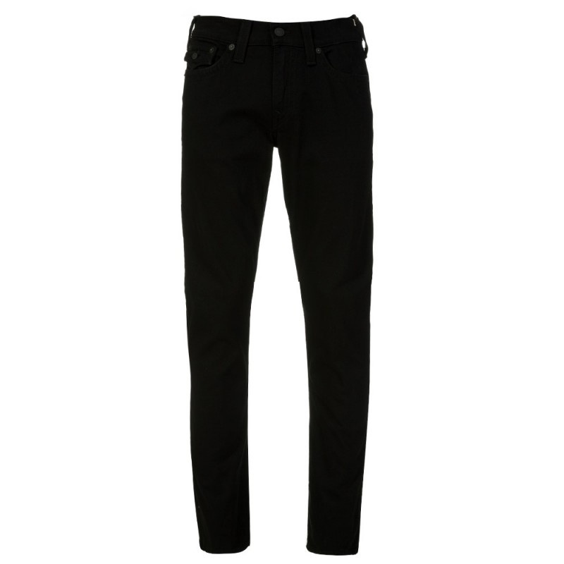True Religion Black Ricky Flap Jeans