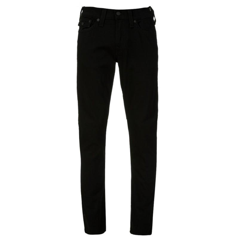 True Religion Black Ricky Flap Jeans