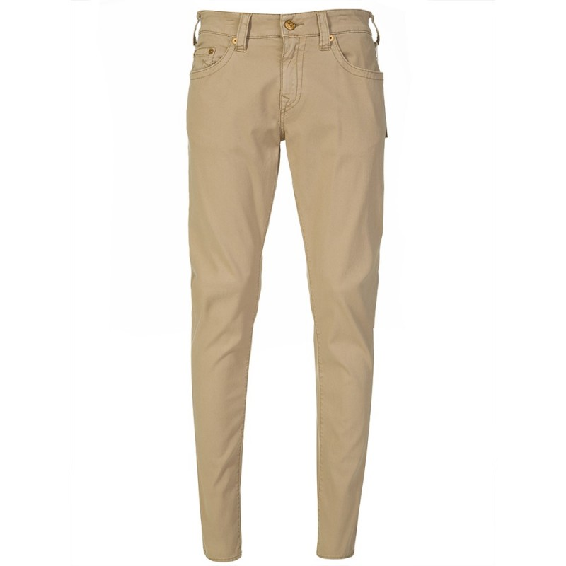 True Religion Tan Geno Twill Jean
